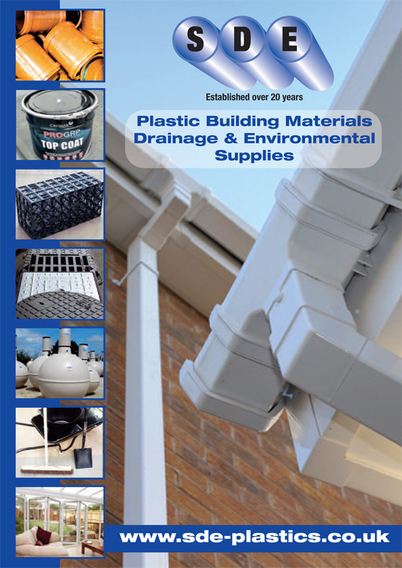 SDE Plastics Building Materials Brochure 2019 1