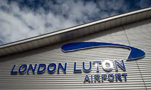 Luton Airport, Bedfordshire