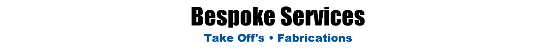 SDE - Bespoke Services